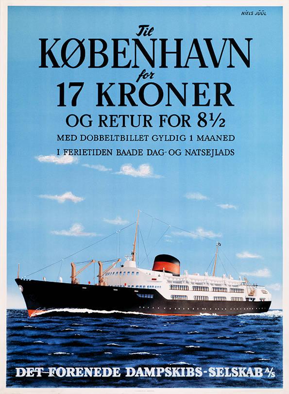 005 Poster tradition, til København for 17 kroner