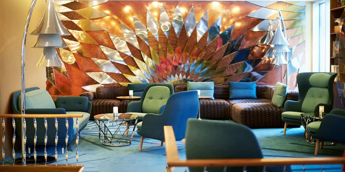 Tivoli Hotel lobby