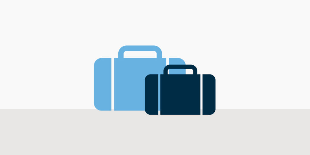 Prepare for your travel - Luggage