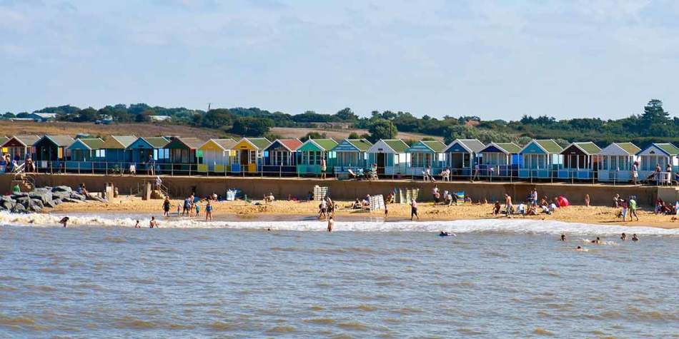 Suffolk beach view