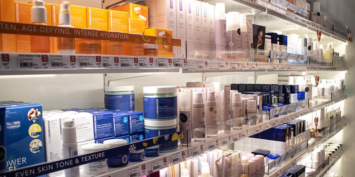 Taxfree shopping Oslo-København - skjønnhet