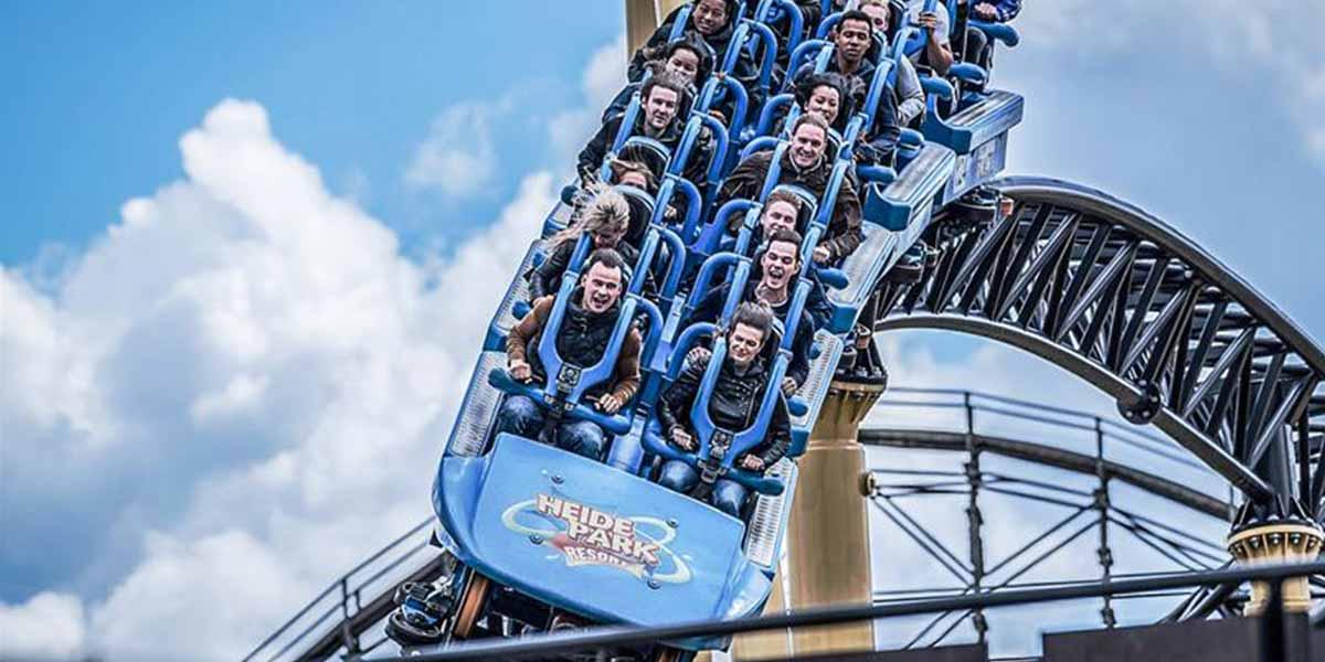 Heide Park - rollercoaster ride