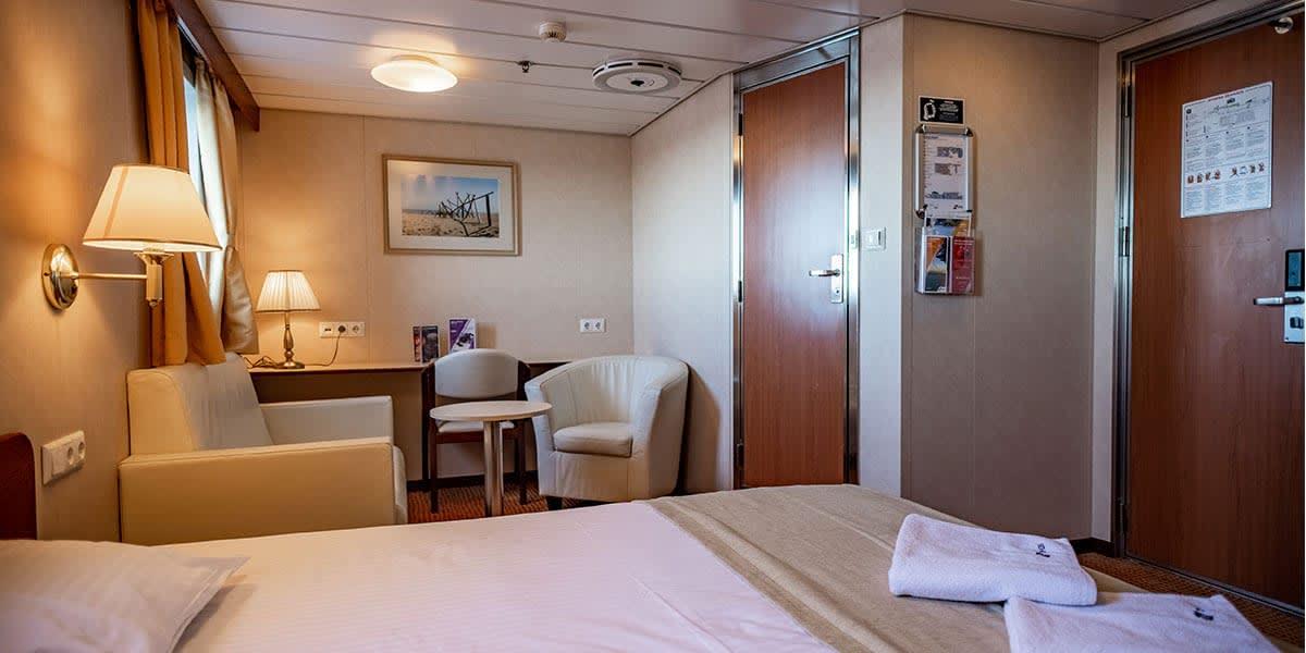 Commodore cabin - Athena ferry