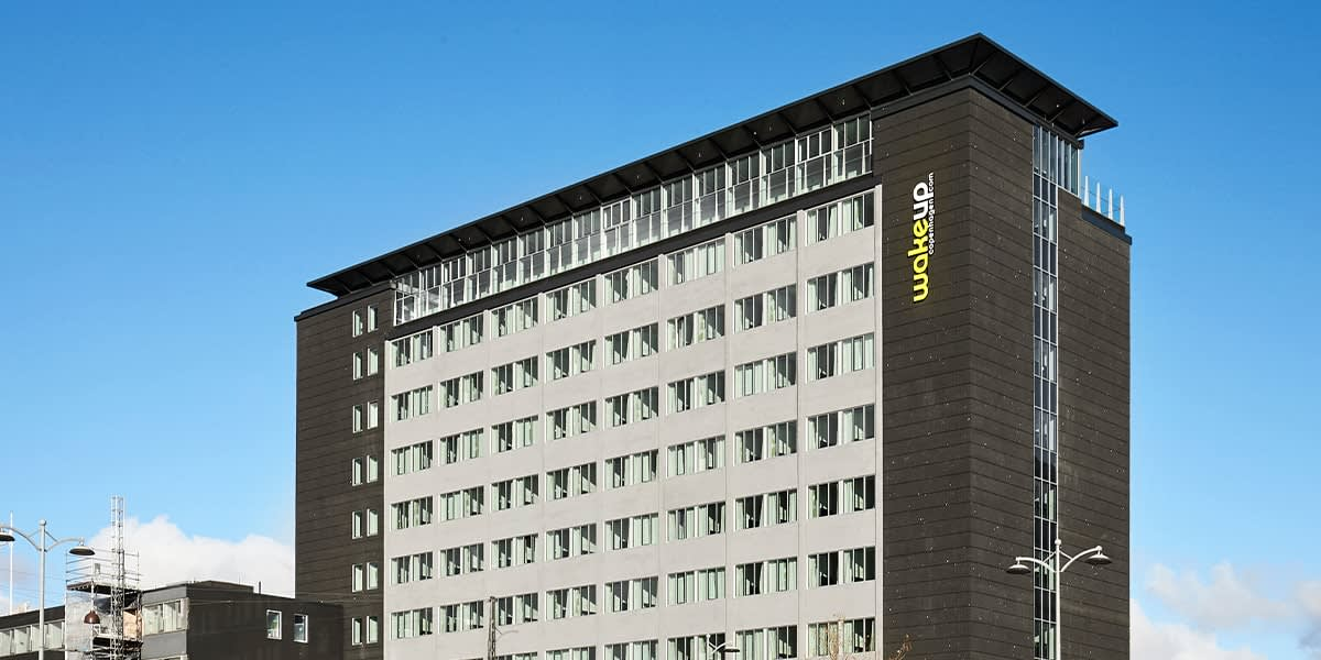 Wakeup Bernstorffsgade - fasade