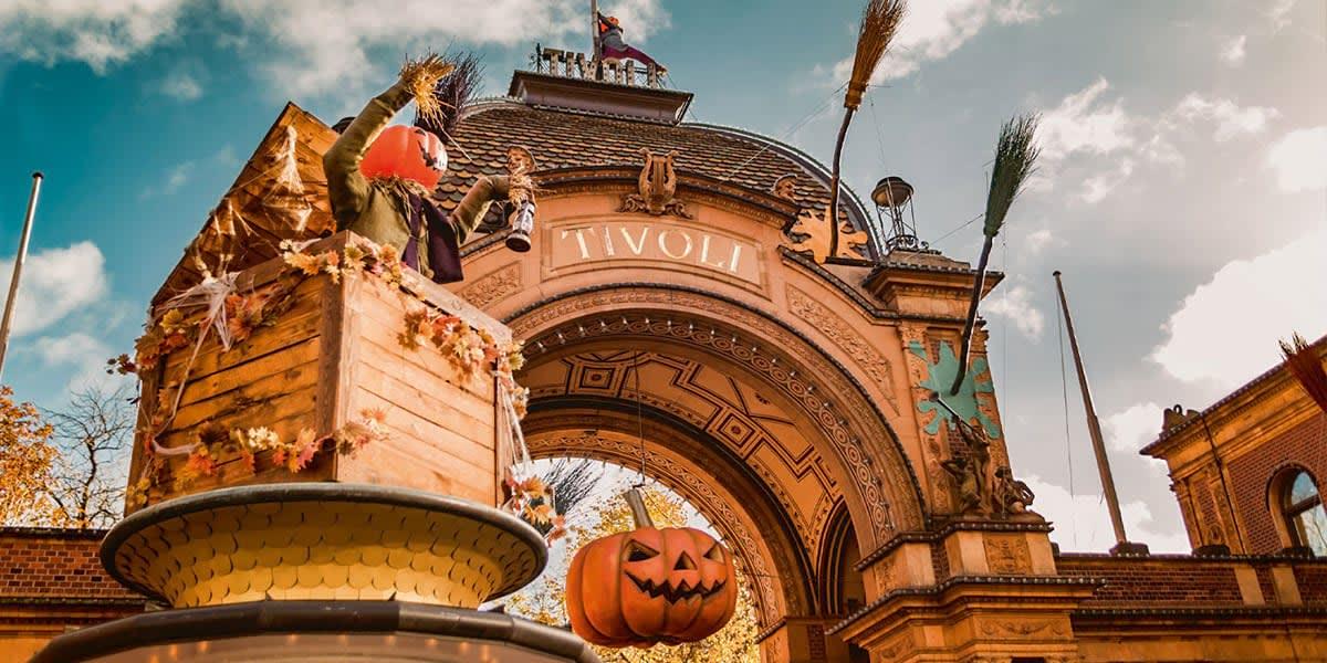 Halloween in Tivoli Copenhagen