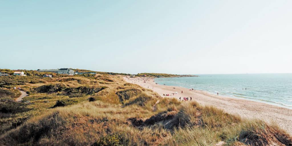 Tysoland beach in Sweden