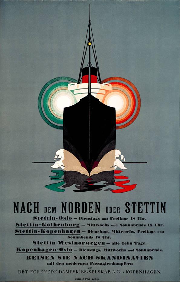 004 Poster tradition, Nach dem Norden, Dark