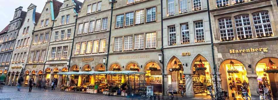 Shops in Munster, Germany