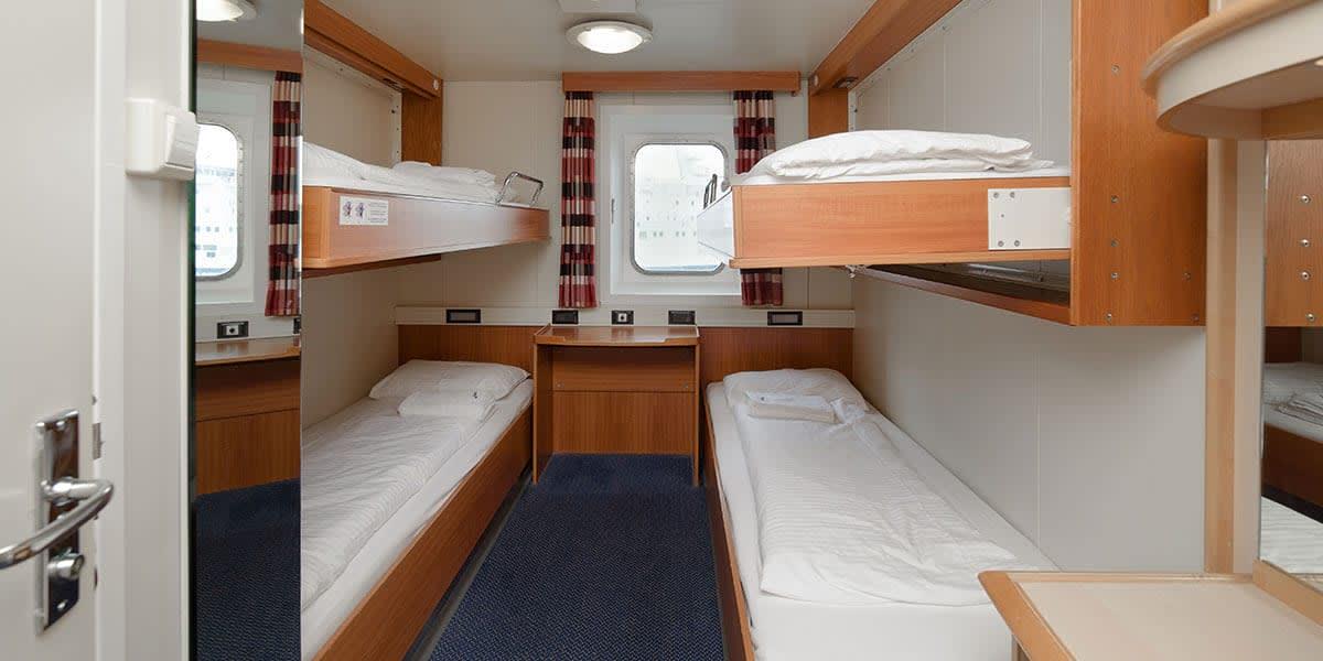 Seaview cabin - Sirena Seaways