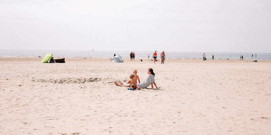 The beach in Ijmuiden