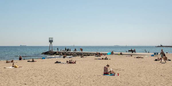 Bellevue beach Copenhagen, Image credit: Astrid-Maria Rasmussen