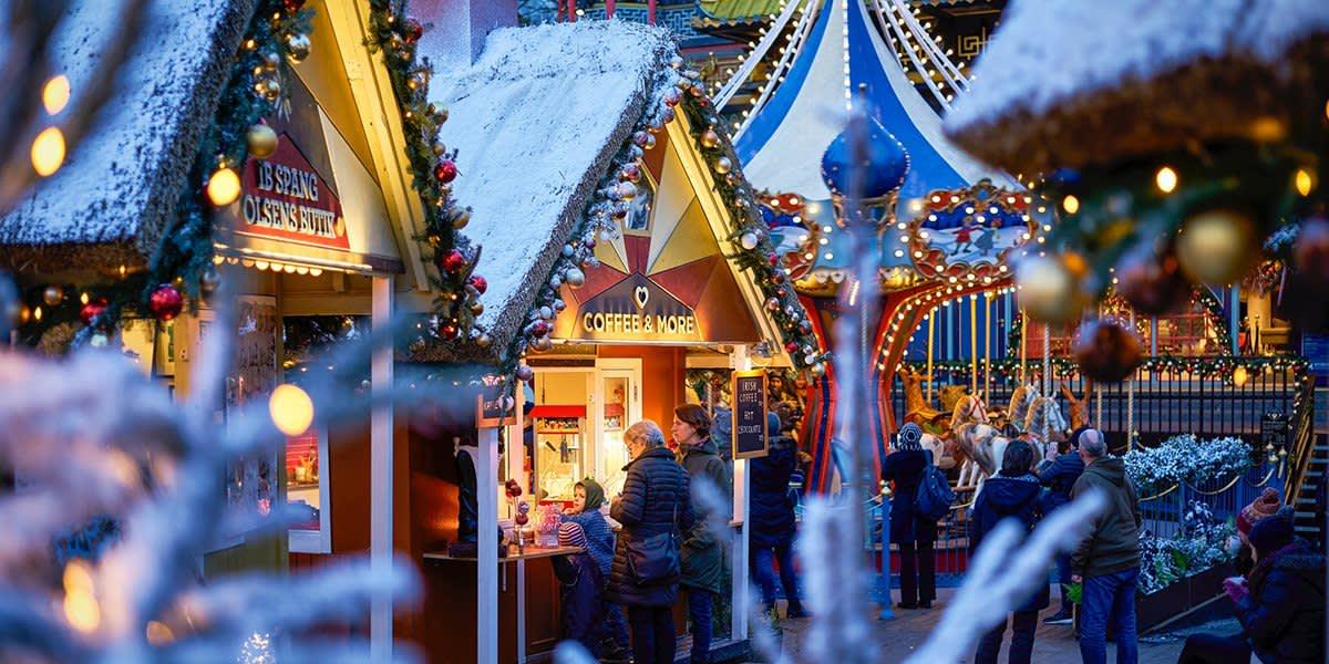 Jul i Tivoli - København