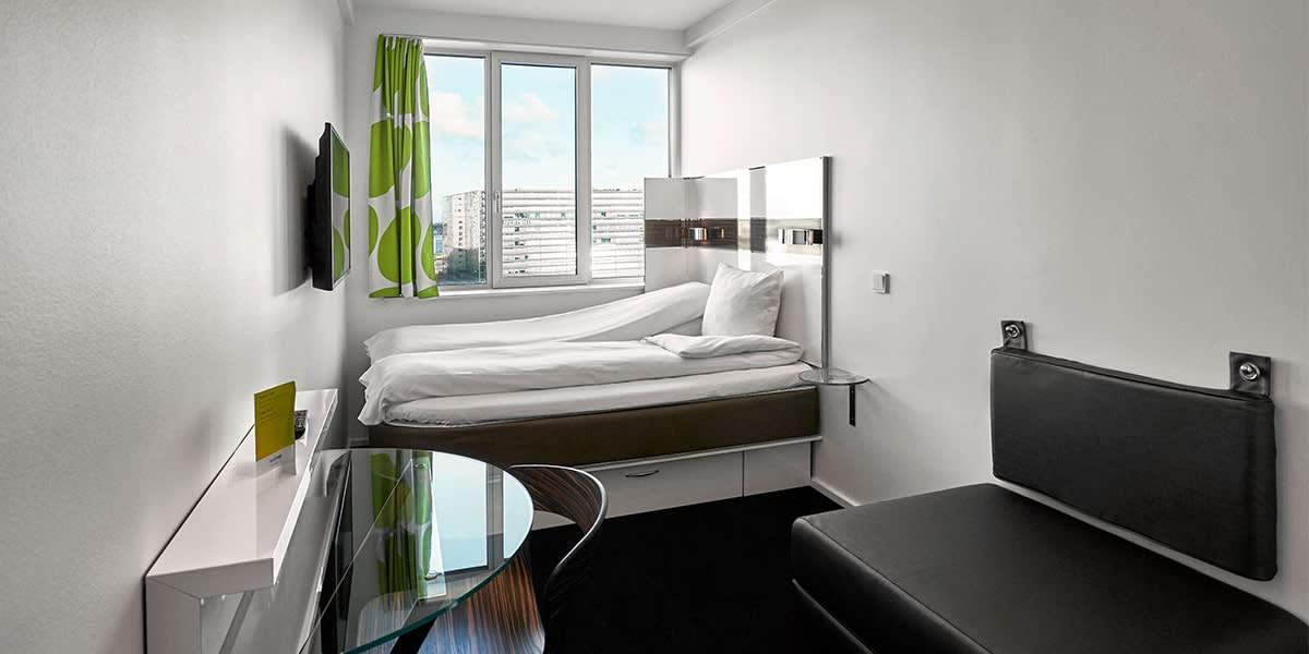 Wakeup Bernstorffsgade - større værelse