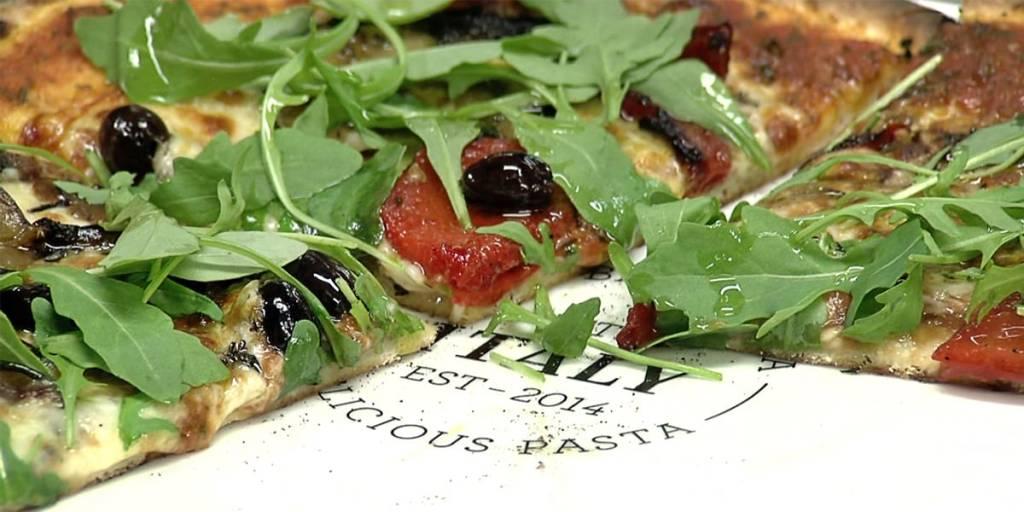 Pizza i Little Italy