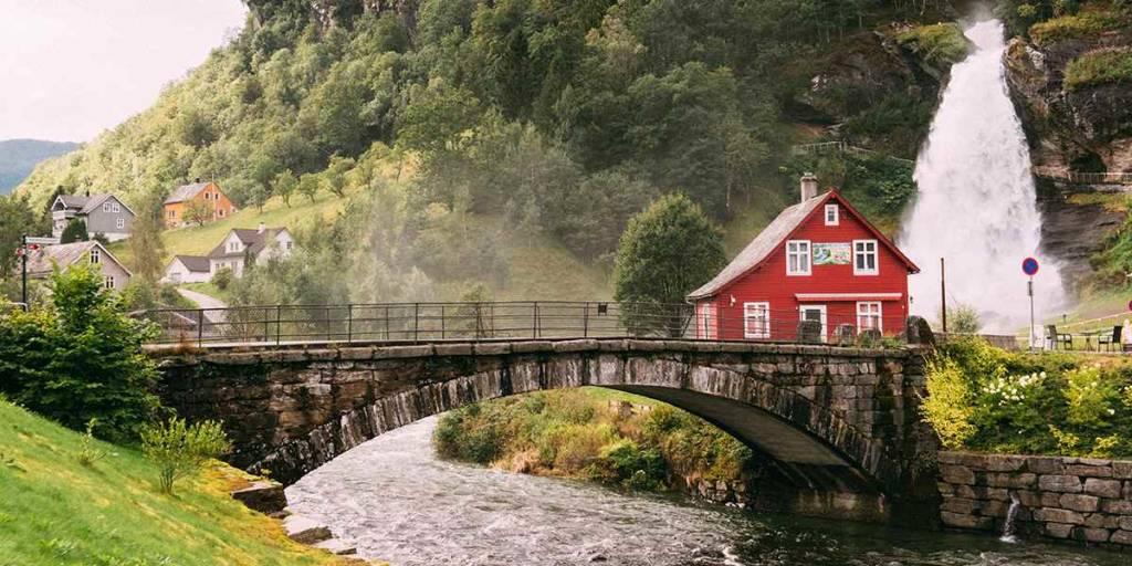 Norway, Steindalsfossen