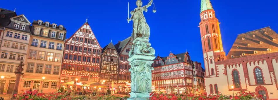 Frankfurt city, Germany