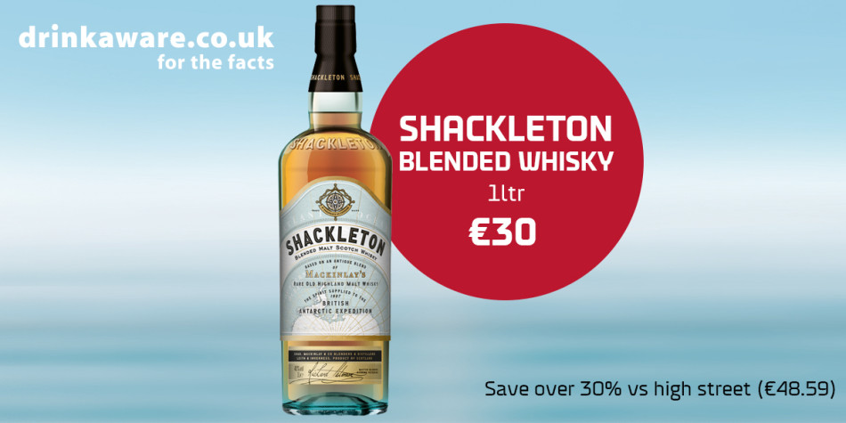 Shackleton Blended Whisky