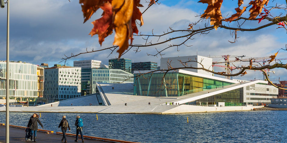 Beautiful Oslo in Autumn