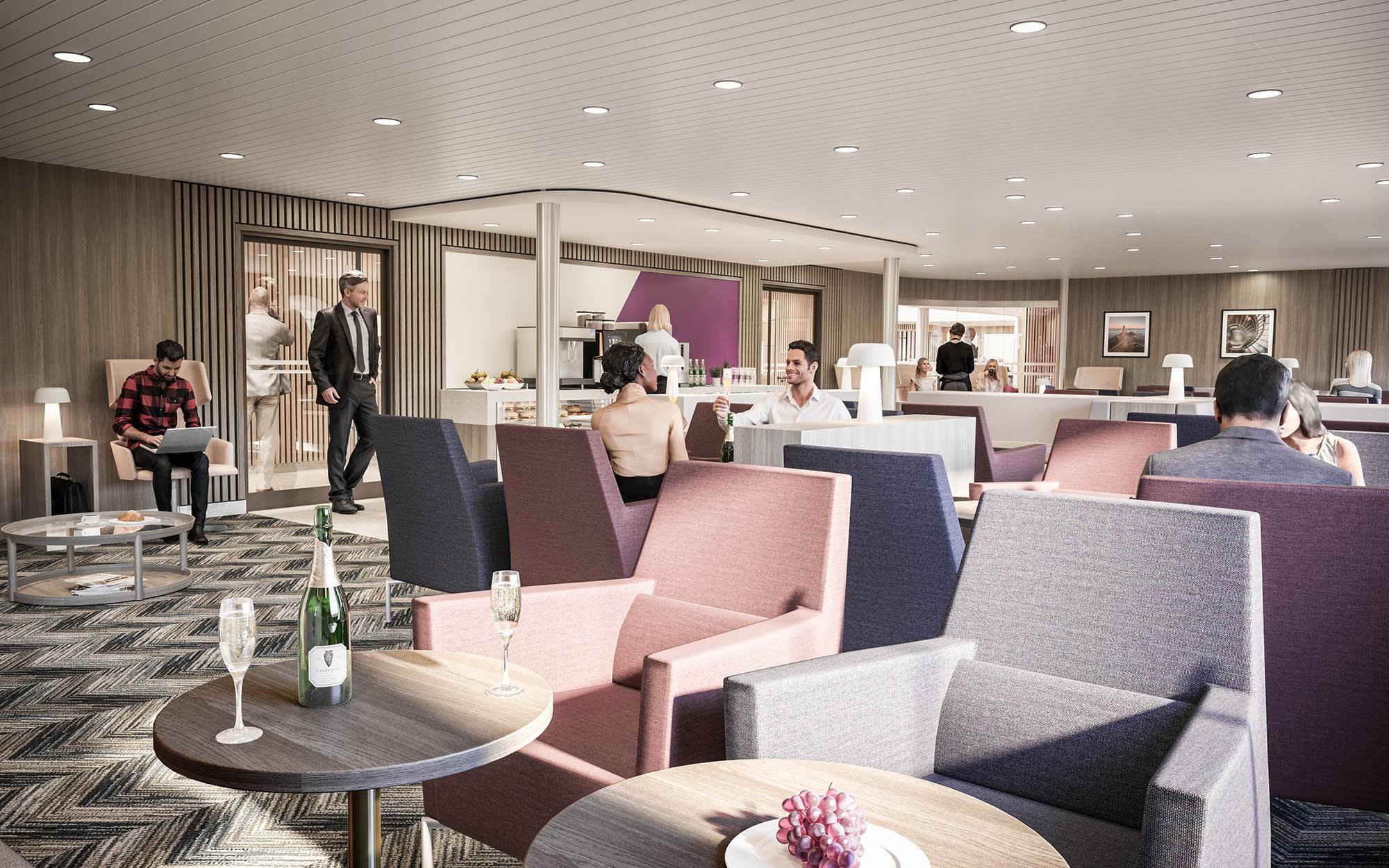 RÅformat Figura DFDS0268 Deck 8 Light House Premium Lounge