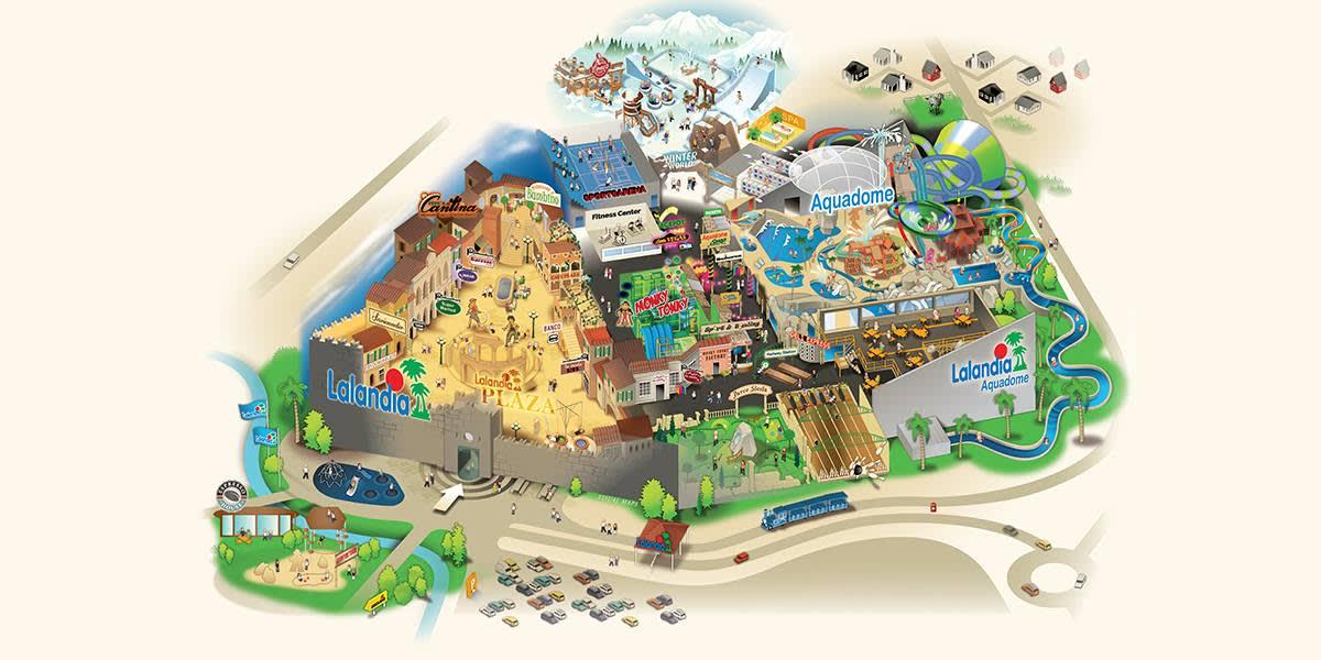 Lalandia Billund - overview