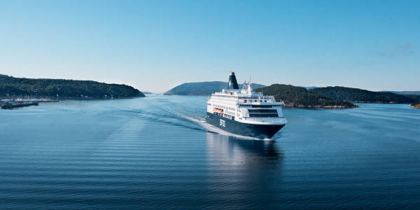 Pearl Seaways i Oslofjorden