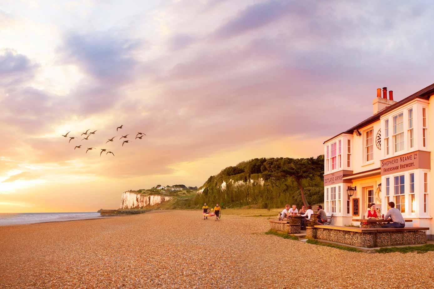 Pub on the beach