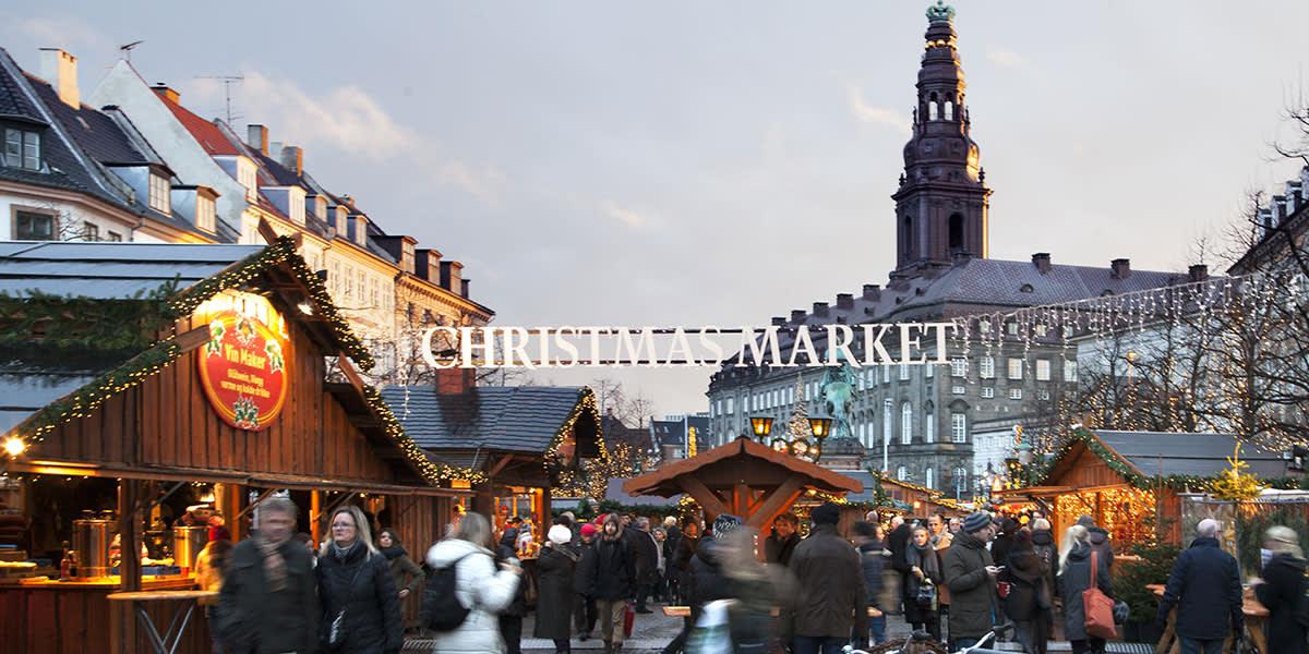 Christmas market, Copenhagen - Photo Credit: Kim Wyon