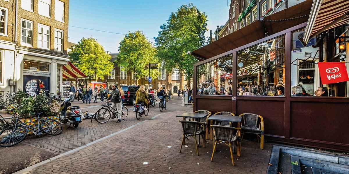 Amsterdam in the sunshine
