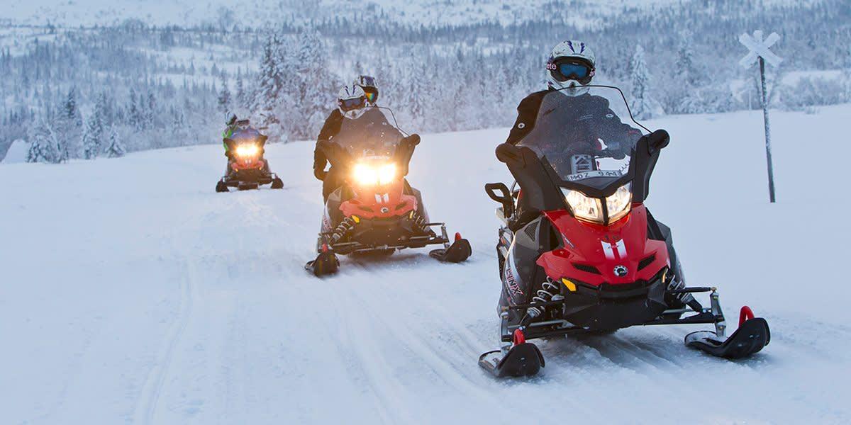 Sweden - snowmobile - PhotoCredit Mikko Nikkinen