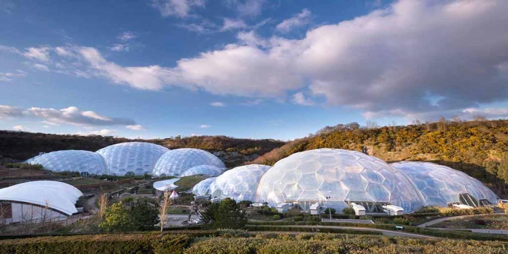 Eden Project, Gärten
