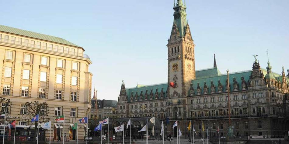 Hamburg Town Hall, Germany