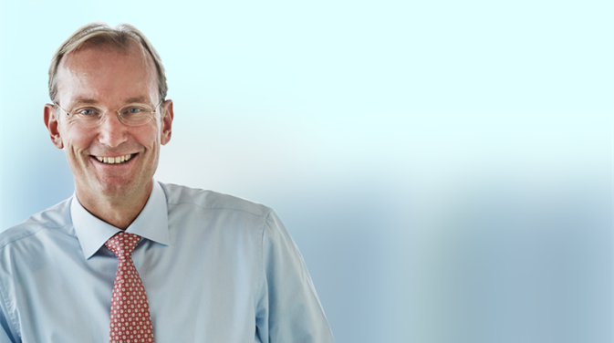 Photograph of DFDS CEO Niels Smedegaard
