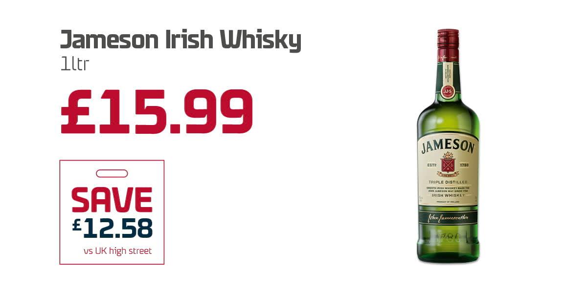 WC Duty Free - Jameson Irish Whisky