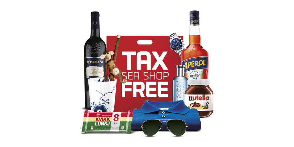 Shop Tax Free om bord på ruten København - Oslo