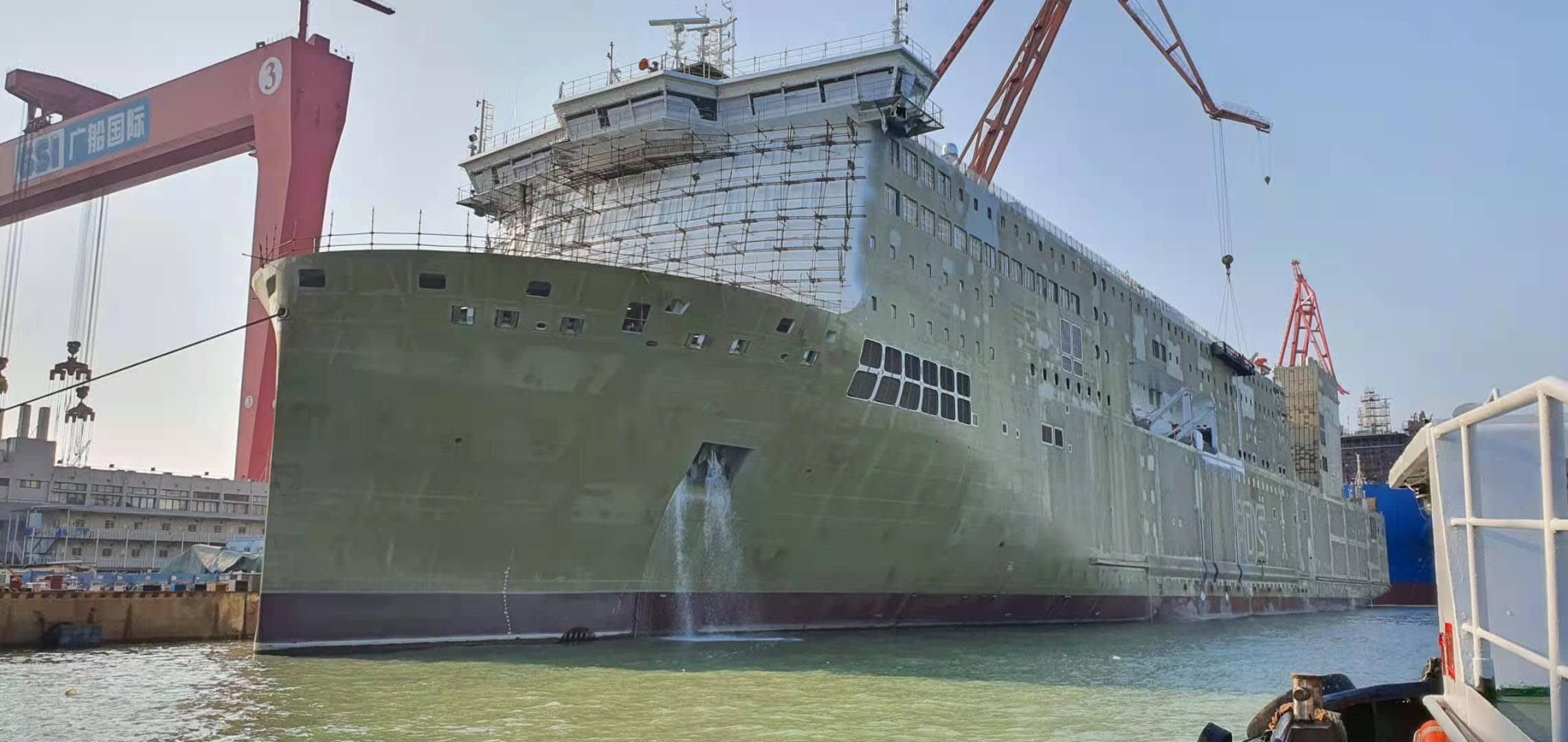 newbuilding for DFDS Baltics
