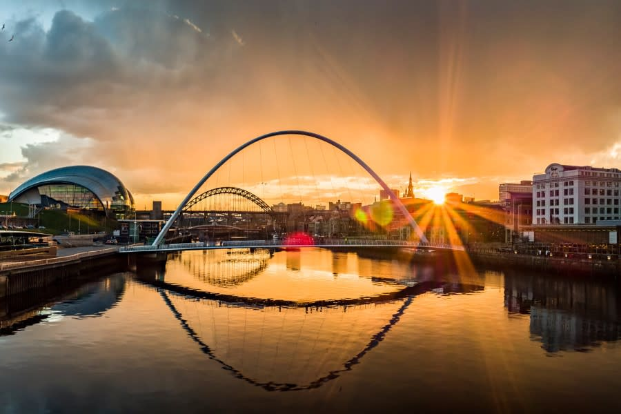 Newcastle quayside co visitengland