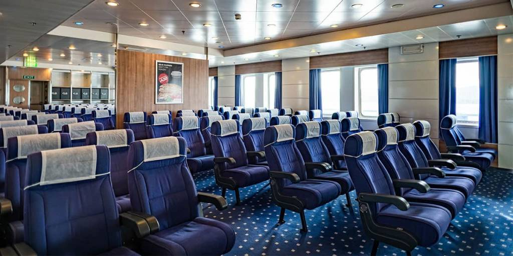 Reclining seats lounge - Regina ferry