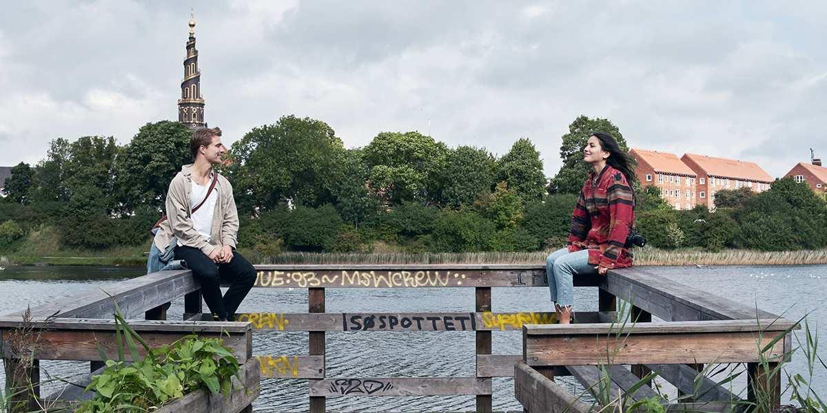 Par på sightseeing i København