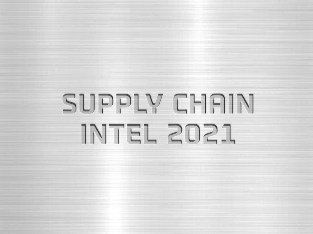 Supply Chain Intel 2021