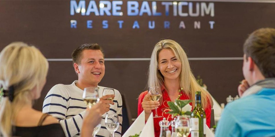 Group in Mare Balticum restaurant