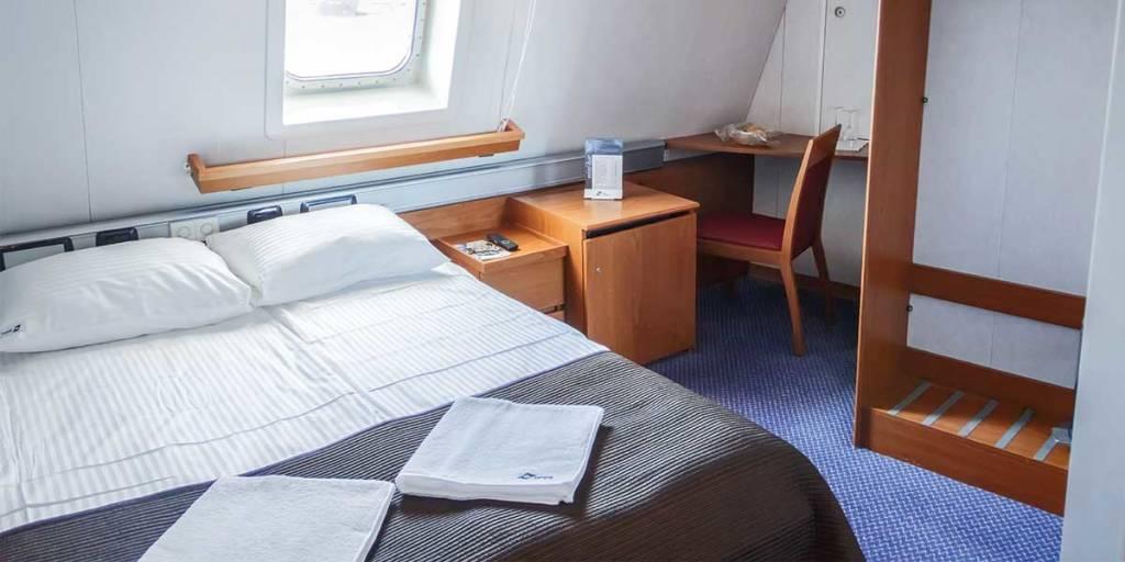 Commodore deluxe cabin onboard Klaipeda-Karlshamn
