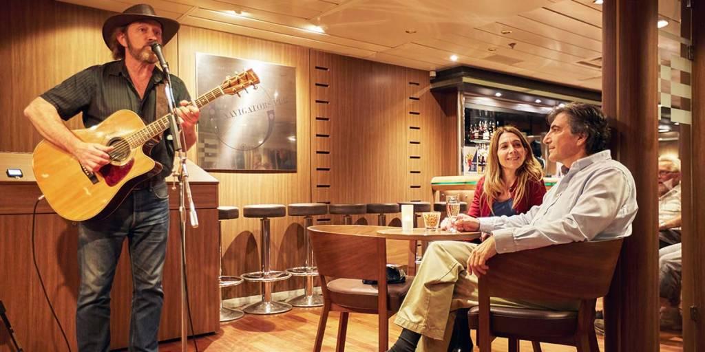 Live singer onboard