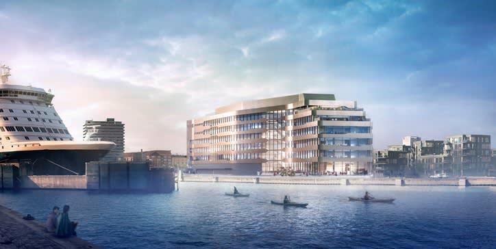 New building Copenhagen