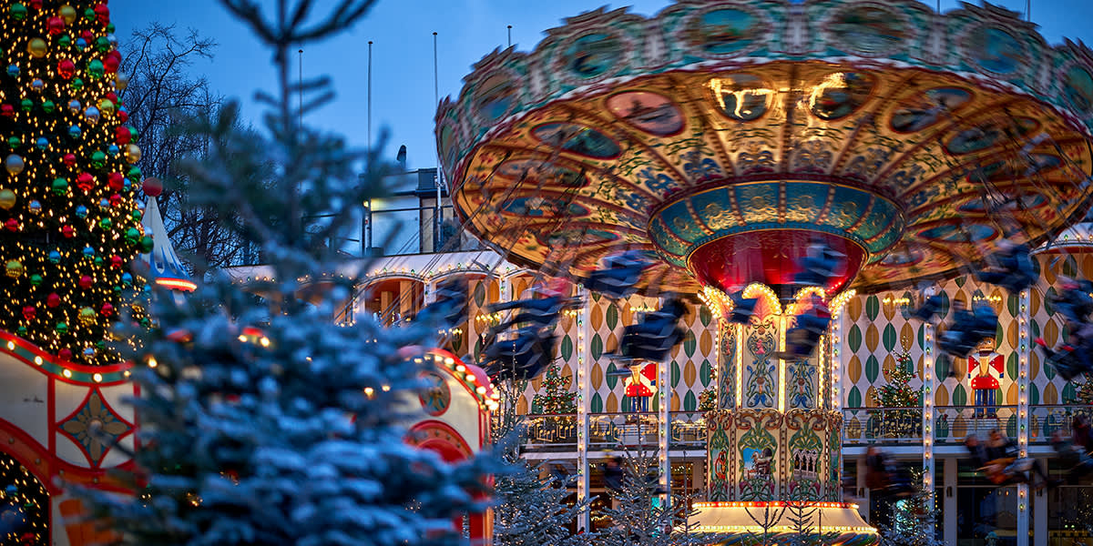 Jul i Tivoli i København