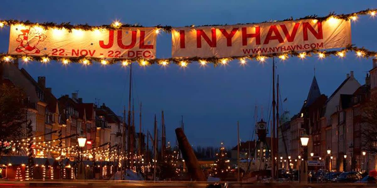 Copenhagen Christmas market - Nyhavn