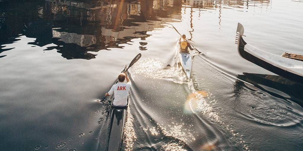 Spring in Copenhagen, kayak - Photo Credit: Astrid Maria Rasmussen
