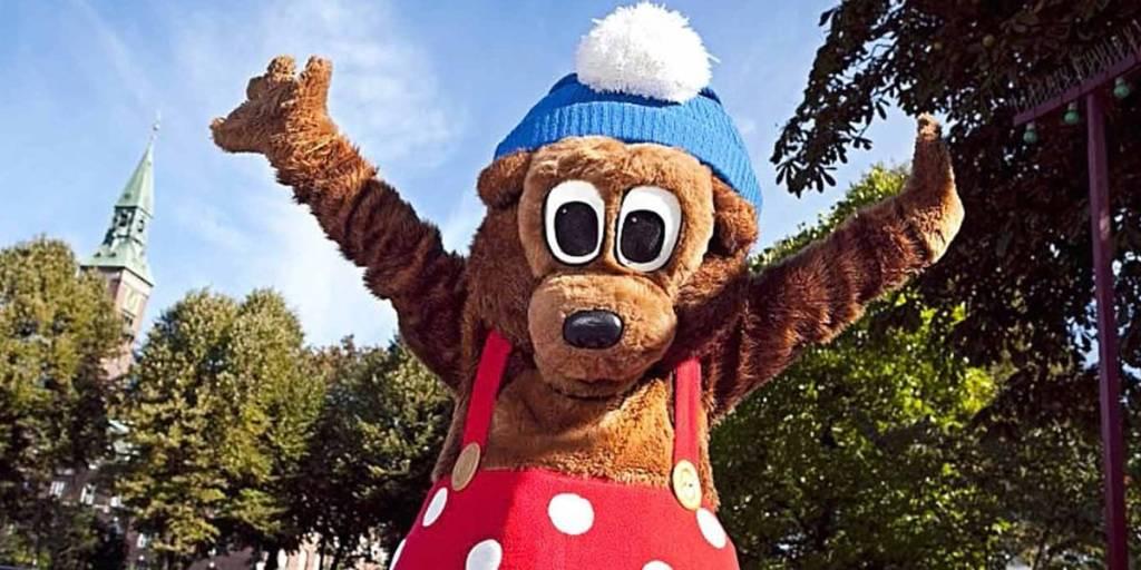 Tivoli baby bear Copenhagen