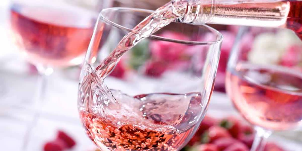 Wine regions in France - Provence, wine glass