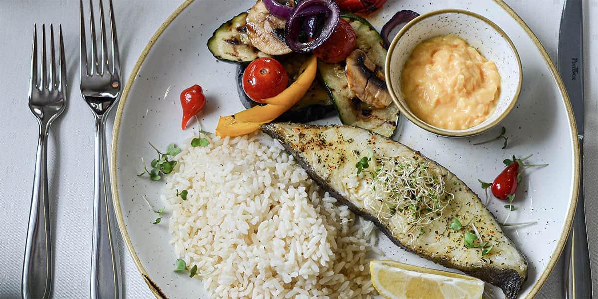 Dish at Mare Balticum restaurant