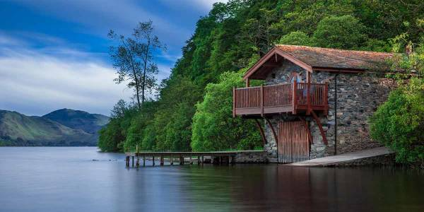 Boat house Scotland
